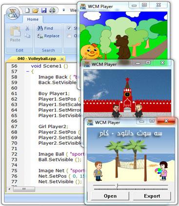 نرم افزار طراحي انيميشن Web Cartoon Maker
